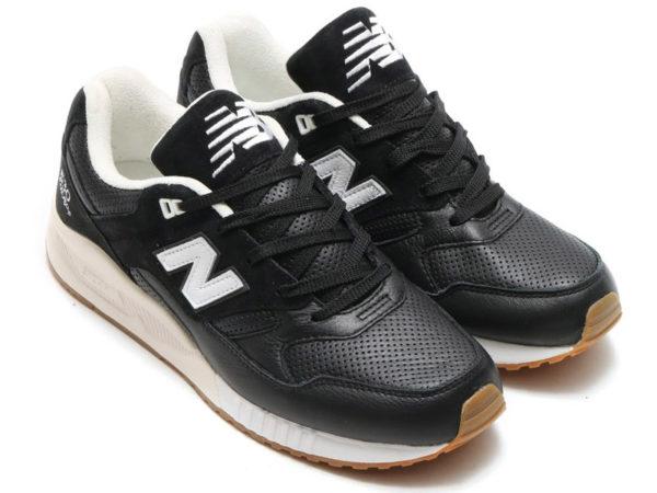 New Balance 530 черные с белым (40-45)
