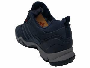 Зимние Adidas Terrex Traxion Low темно-синие - фото сзади
