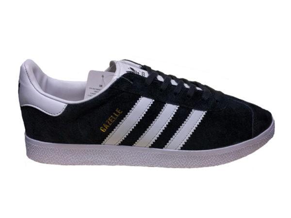 Adidas Gazelle Suede черные с белым