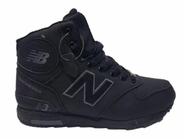 New Balance 1400 Mid на меху черные (40-46)