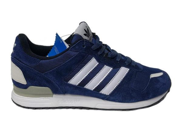 Adidas ZX 700 синие с белым (40-45)