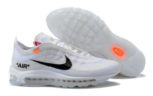 Nike x Off-White Air Max 97 белые-White (40-44)