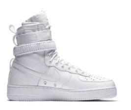 Кроссовки Nike Air Force 1 SF white белые (35-45)