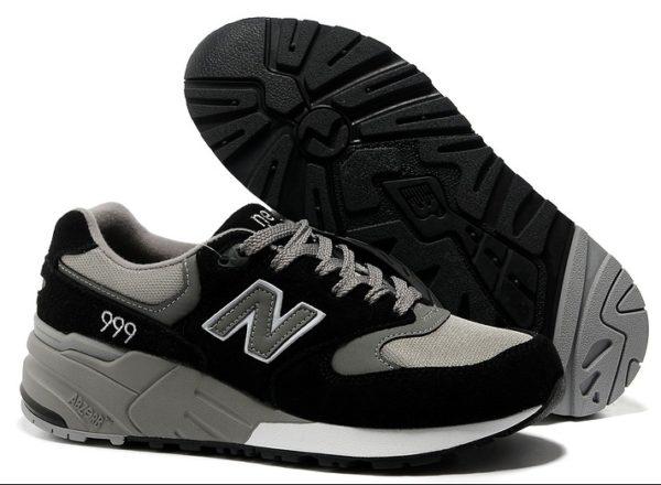 New Balance 999 черные с серым (36-44)