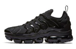 Nike Air VaporMax Plus Black Черные 40-44