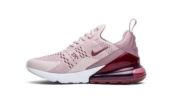 Nike Air Max 270 розовый с бордовым (35-40)