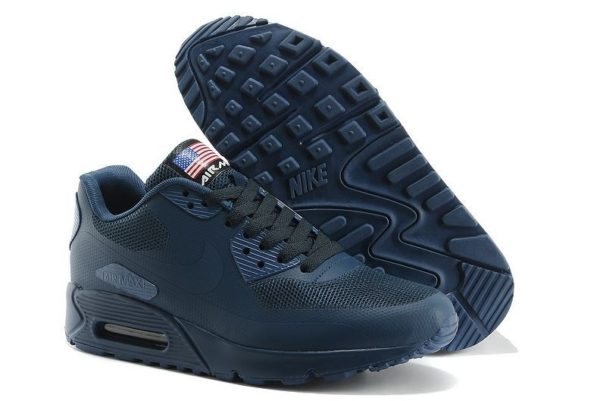 Nike Air Max 90 Hyperfuse синие (35-45)