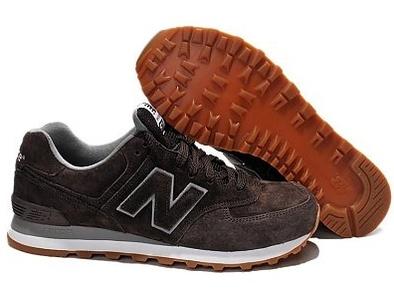 New Balance 574 темно-коричневые (40-44)