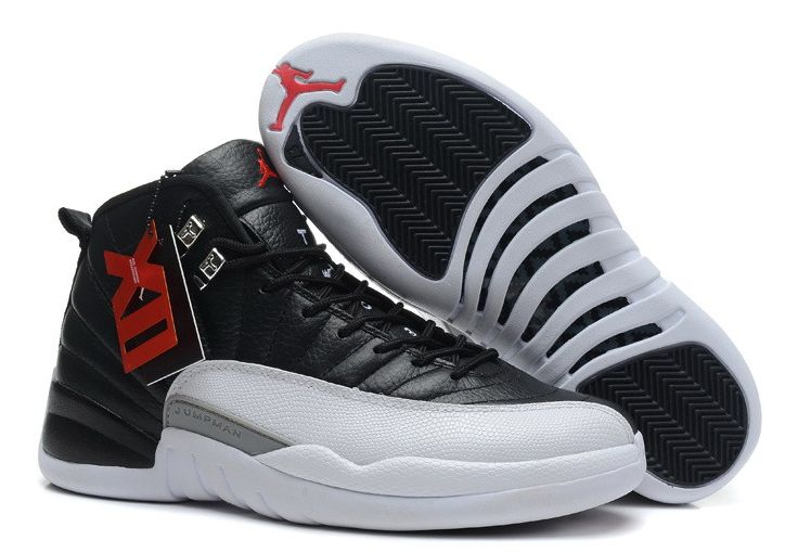 Nike Air Jordan 12 Retro черно-белые (40-45)