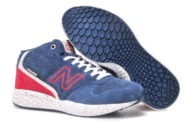 New Balance 988 синие с красным (35-43)