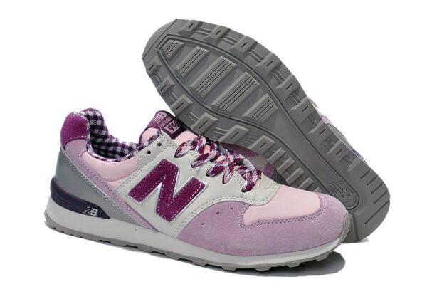New Balance 996 розовые c фиолетовым (35-38)