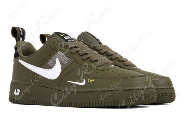 Nike Air Force 1 07 LV8 Utility зеленые (35-44)