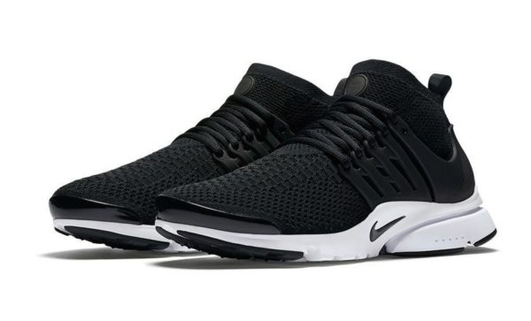 Nike Air Presto Flyknit Ultra черно-белые (39-44)