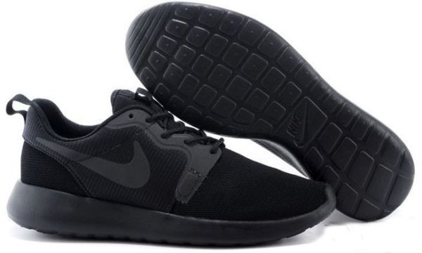 Nike Roshe Run Hyperfuse QS черные (35-45)