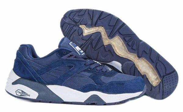 Puma Trinomic R698 синие (39-44)