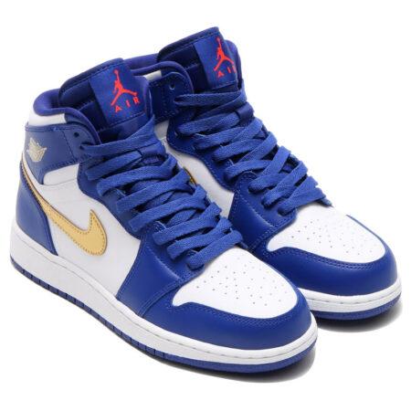 Голубые кроссовки Nike