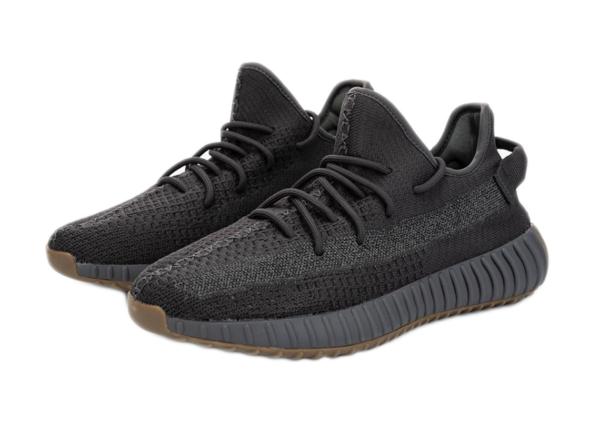 Adidas Yeezy Boost 350 V2 Static All Black черные мужские-женские (35-44)