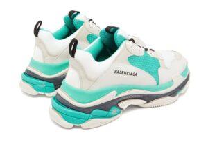 Balenciaga Triple S бежево-бирюзовые (35-44)