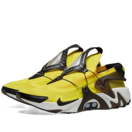 Nike Adapt Huarache желтые с черным мужские (40-44)