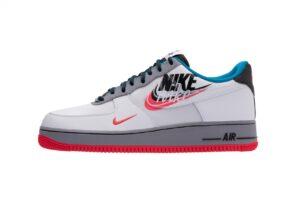 "Nike Air Force 1 LV8 ""Script Swoosh"" белые с серым (40-44)"