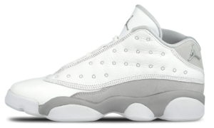 Nike Air Jordan 13 белые с серым (42-45)