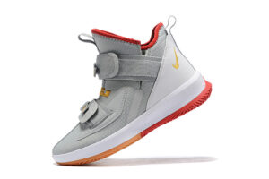Nike Lebron Soldier 13 серые с белым (40-45)