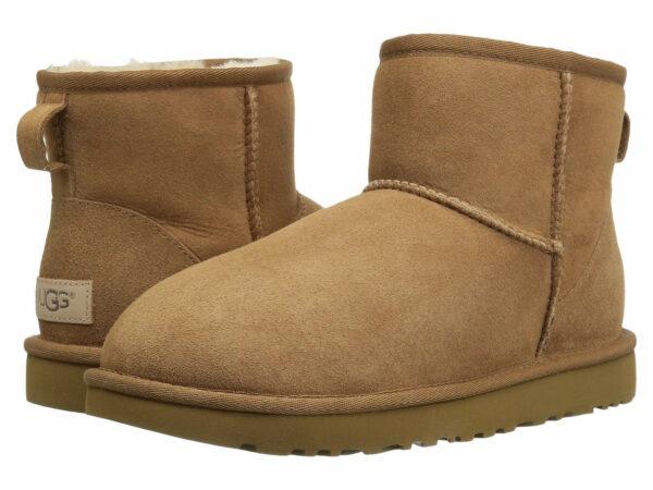 Зимние Ботинки UGG Bailey с мехом коричневые (35-40)