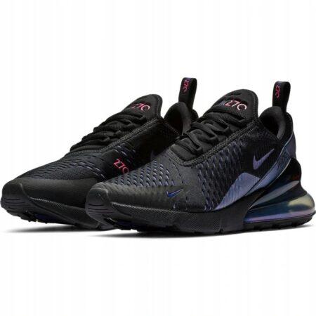 Nike Air Max 270 черные хамелеон мужские-женские (35-44)