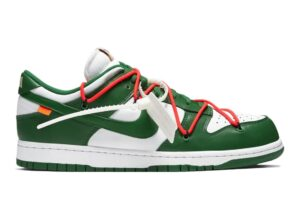 Nike Dunk Low off-White зелено-белые (40-44)
