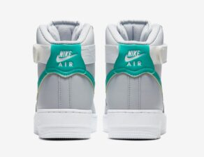 Nike Air Force 1 High 07 серо-белые (40-44)