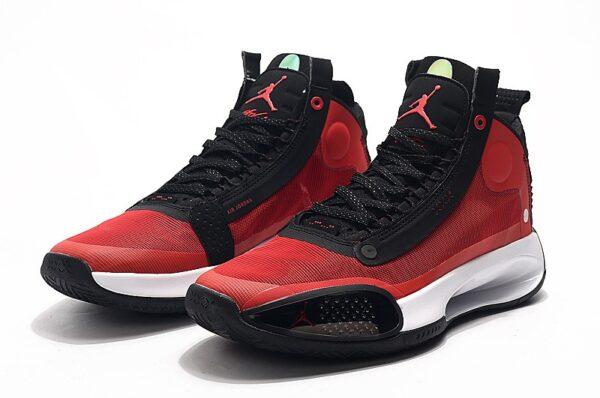 Nike Air Jordan 34 красные мужские (40-45)
