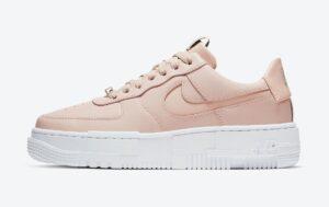 Nike Air Force 1 Low Pixel Triple бежевые (35-39)